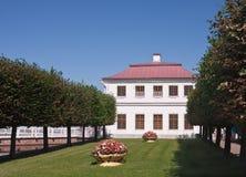 marly slottpeterhofpetersburg russia st Arkivbilder