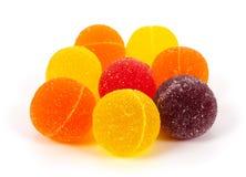 Marmalade balls Stock Images