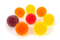 Marmalade balls Royalty Free Stock Photography