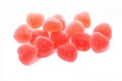 Marmalade bonbon on white Stock Photography