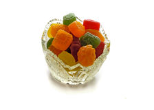 Marmalade candies Stock Photos