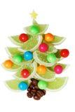 Marmalade Christmas tree Stock Images