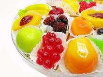 Marmalade gelatin fruits Royalty Free Stock Photography