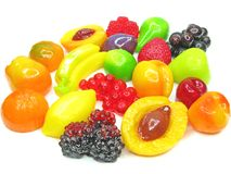 Marmalade gelatin fruits Stock Photography