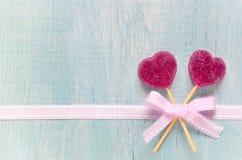Marmalade hearts Royalty Free Stock Images