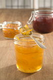 Marmalade, jam and jelly Stock Photo