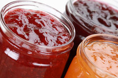 Marmalade in jars Royalty Free Stock Image