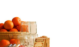 Marmalade making Royalty Free Stock Image