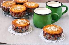 Marmalade muffins Stock Photo