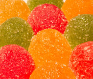 Marmalade multicolored Royalty Free Stock Image