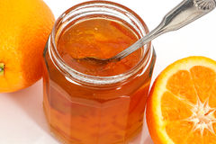 Marmalade and oranges Royalty Free Stock Images