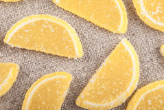 Marmalade pieces Stock Images