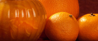 Marmalade strip Royalty Free Stock Images