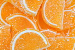 Marmalade in sugar Royalty Free Stock Images