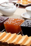 Marmalade Whit Toast Royalty Free Stock Photography