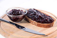 Marmalades bread Royalty Free Stock Photography
