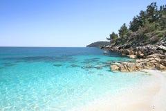 Marmara (Marble) beach Stock Image
