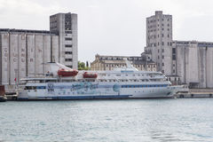 Marmara passenger ship docked at Port Of Haydarpasa stock photos