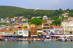 Marmara sea resort village view Royalty Free Stock Images