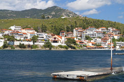Marmaras summer resort in Greece Stock Photography