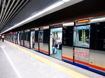 Marmaray train Stock Photo