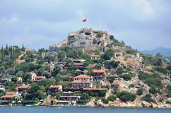 Marmaris城堡 库存图片