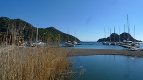 Marmaris on a beautiful day, the month of March Royalty Free Stock Photo
