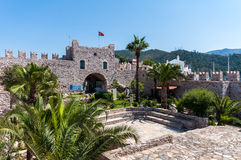 Marmaris Castle, Turkey. Marmaris is beautiful holiday destination. Castle in the old town Stock Photos