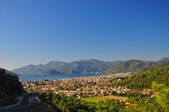 Marmaris city in Mugla, Turkey Royalty Free Stock Image