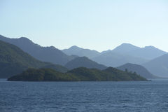 Marmaris Coasts Royalty Free Stock Images
