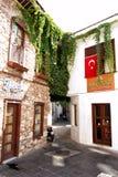 Marmaris gammal stad Turkiet Arkivbild