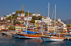 Marmaris Harbor Royalty Free Stock Photography