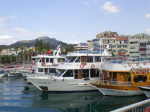 Marmaris harbor Royalty Free Stock Photos