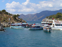 Marmaris harbor Stock Image
