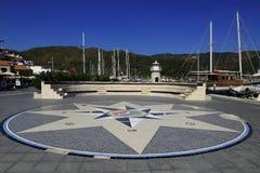 Marmaris-Jachthafen lizenzfreie stockfotos
