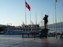 Marmaris La Turchia Mare blu Sun Montagne turisti Bl immagine stock libera da diritti