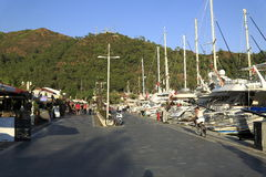 Marmaris marina Royalty Free Stock Photography