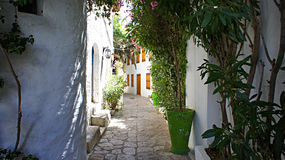 Marmaris. Narrow street in the old town Stock Image