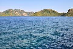 Marmaris seascape Arkivfoton