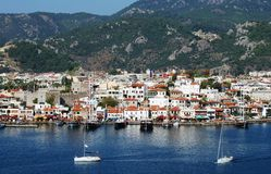 Marmaris Town Royalty Free Stock Photography