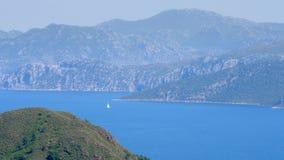 Marmaris, Turkije, de Reisbestemming van de het Dagelijkse levenszomer stock footage