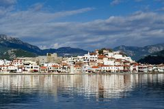 Marmaris view from the sea Royalty Free Stock Photography