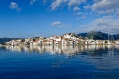 Marmaris view from sea Stock Photo