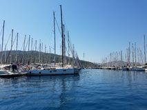 Marmaris Yacht Marina royalty free stock images