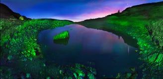 湖Marmarosha 库存图片
