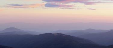 Marmarosy - mountains range. Carpathians National Park, Biosphere Reserve Stock Photos