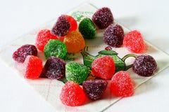 Marmelad i socker Arkivbild