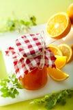 Marmelade arancione Fotografie Stock Libere da Diritti