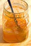 Marmelade jar Stock Photography