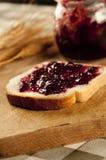 Marmelade y fresas Imagenes de archivo